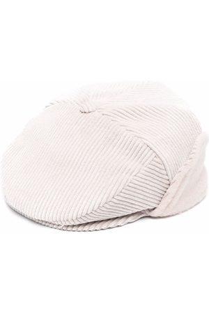 COLORICHIARI Baby Hats - Corduroy paperboy hat
