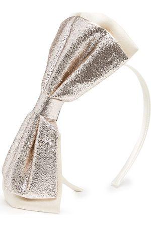 HUCKLEBONES LONDON Girls Hair Accessories - Double-bow hairband
