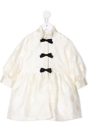 HUCKLEBONES LONDON Girls Casual Dresses - Shirt spotted dress