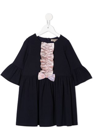 HUCKLEBONES LONDON Bell-sleeved jersey dress