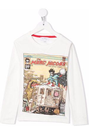 The Marc Jacobs Logo-print T-shirt