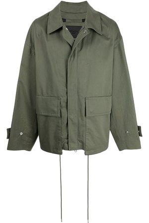 SONGZIO Casual - Oversize flap-pocket chore jacket