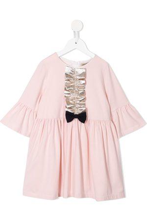 HUCKLEBONES LONDON Girls Casual Dresses - Bell-sleeved jersey dress