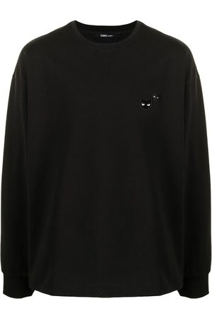 ZZERO BY SONGZIO Long Sleeve - Panther-patch long-sleeved T-shirt