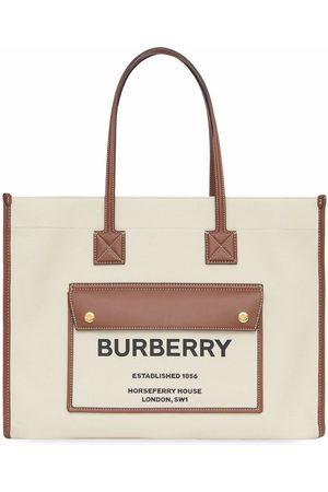 Burberry Medium two-tone Freya bag