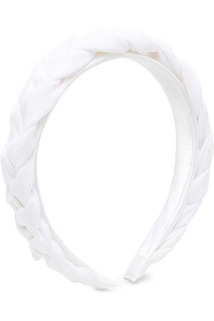 HUCKLEBONES LONDON Plait-detail Hairband