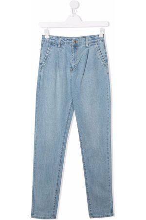 Levi's Girls Slim - Box-pleat slim-fit jeans