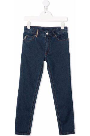 Paul Smith Logo-patch straight-leg jeans