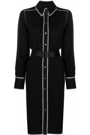 Karl Lagerfeld Women Casual Dresses - Contrast-tape shirt dress