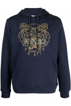 Kenzo Tiger-embroidered hoodie