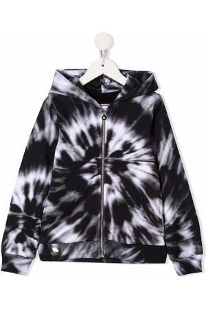 Philipp Plein Tie-dye cotton hoodie