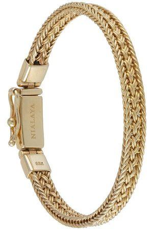 Nialaya Braided chain bracelet
