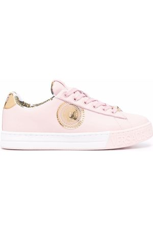 VERSACE Low-top lace-up trainers