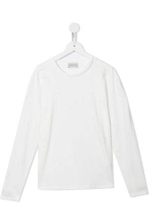 Moncler Long-sleeve cotton T-shirt