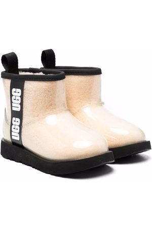 UGG Girls Ankle Boots - Side logo-tape boots