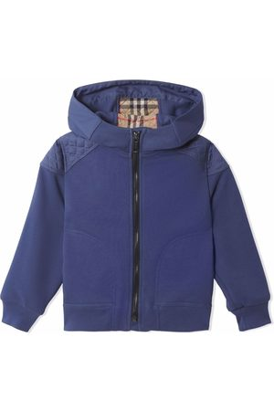 Burberry Monogram quilted panel hoodie