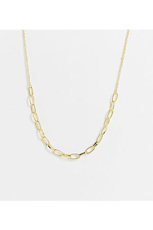 DesignB London Chain necklace in plate
