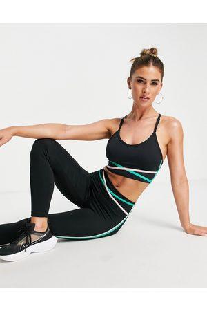 Nike One light support twist detail sports bra in