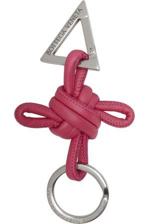 Bottega Veneta Leather Keychain