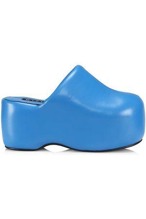 SIMON MILLER Casual Shoes - Vegan Leather Platform Bubble Clogs