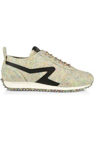 RAG&BONE Retro Runner Felt Sneakers