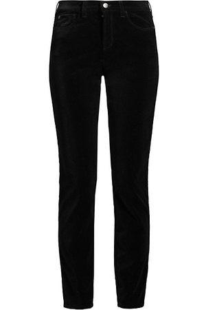 Emporio Armani Stretch Velvet Slim-Fit Pants