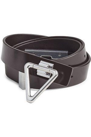 Bottega Veneta Triangle Leather Belt