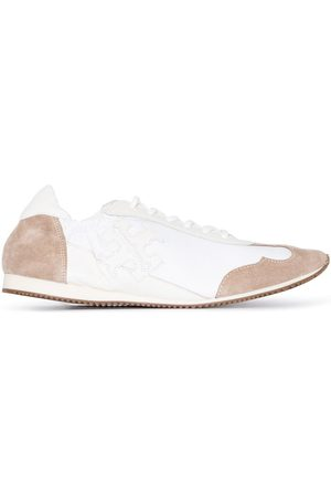 Tory Burch Women Sneakers - Panelled logo patch sneakers