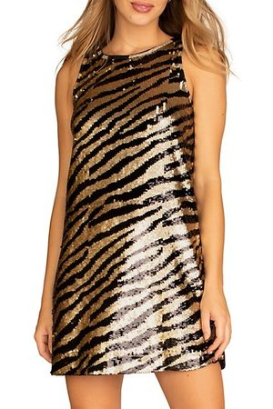 Trina Turk Quartz Sequin Dress