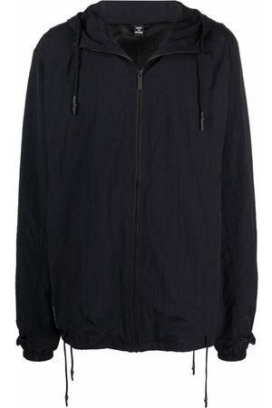 McQ Hooded zip-up jacket