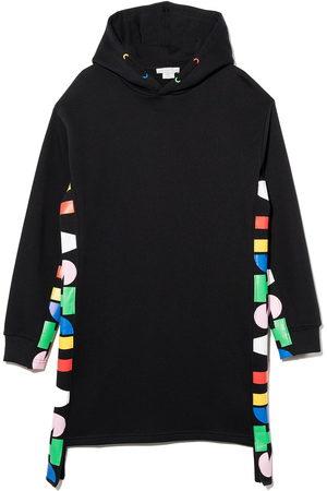 Stella McCartney Oversize hooded fleece dress