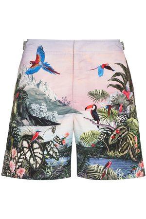 Orlebar Brown Bulldog Jungle print swim shorts