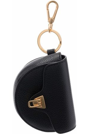 Coccinelle Beat leather keyring