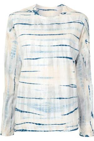 PROENZA SCHOULER WHITE LABEL Tie-dye long-sleeved T-shirt