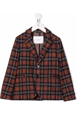 Paolo Pecora Boys Blazers - Checked single breasted blazer