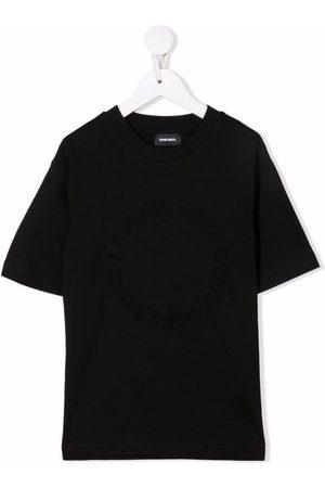 Diesel Debossed tonal logo T-shirt
