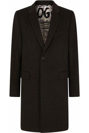Dolce & Gabbana Single-breasted mid-length coat