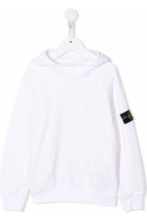 Stone Island Sleeve logo-patch hoodie