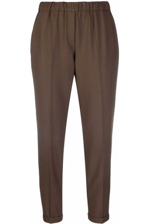 ANTONELLI Slim-fit cropped trousers