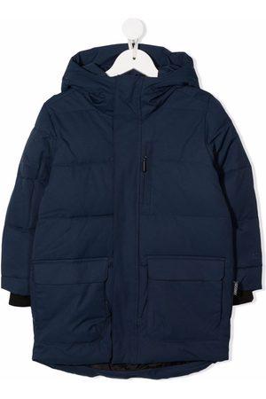 GOSOAKY Hooded padded coat