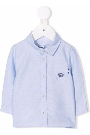 Tartine Et Chocolat Embroidered-logo long-sleeve shirt