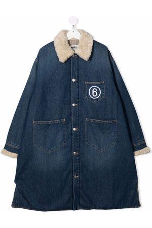 MM6 KIDS Long denim jacket