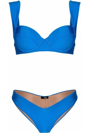 Noire Swimwear Shine finish bikini set