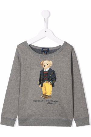 Ralph Lauren Polo Bear-print jersey sweatshirt