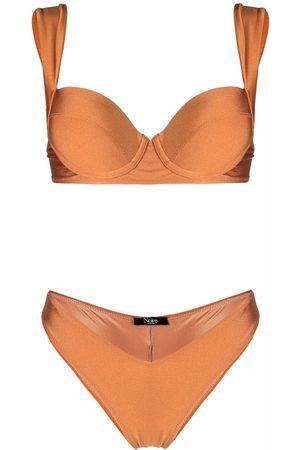 Noire Swimwear Shiny finish bikini set
