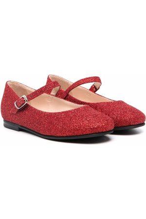 Il gufo Girls Ballerinas - Glittered ballerina shoes