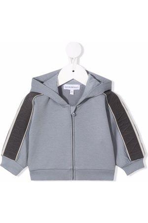 Emporio Armani Zip-up cotton hoodie