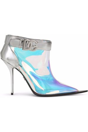 Dolce & Gabbana Women Ankle Boots - Holographic ankle boots