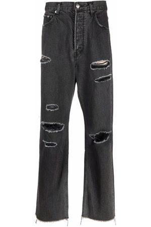 AMBUSH Distressed straight-leg jeans