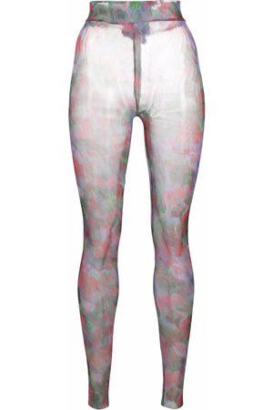 HENRIK VIBSKOV Women Leggings - Pollen semi-sheer leggings
